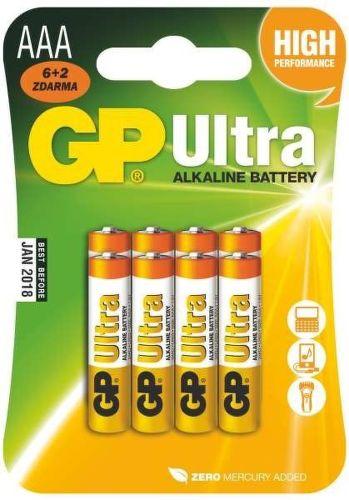 GP B19118 - AAA LR03, 6+2ks