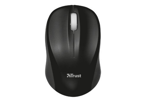 TRUST Vivy Wireless Mini Mouse - Black Solid
