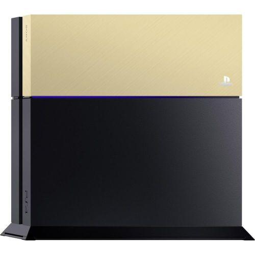 PS4 Farebný kryt na konzolu, zlatý