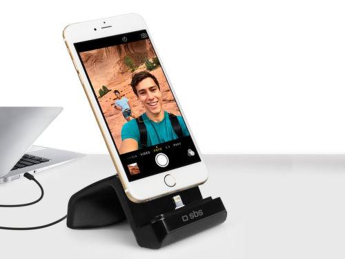 SBS dokovací stojan s lightning konektorom pre iPhone