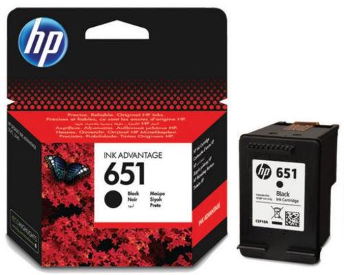 HP C2P10AE No.651 (black) - atrament