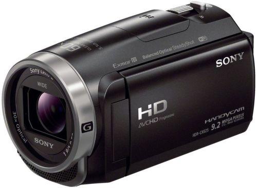 Sony HDR-CX625 (černá) - videokamera