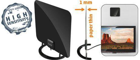 SOMOGYI FZ 52 DVB-T/T2 izbová anténa so zosilňovačom