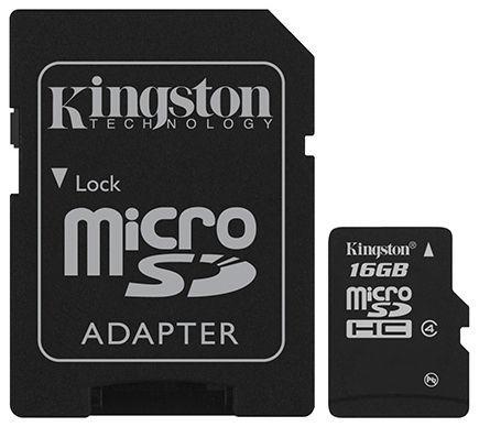 Kingston 16GB Mikro SDHC Card Class 4 - paměťová karta_3