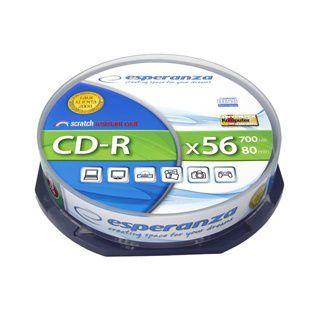 ESPERANZA CD-R SILVER - CAKE BOX 10 ks