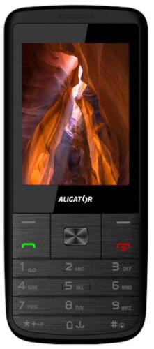 Aligaror D920 Dual sim (čierno-strieborný)