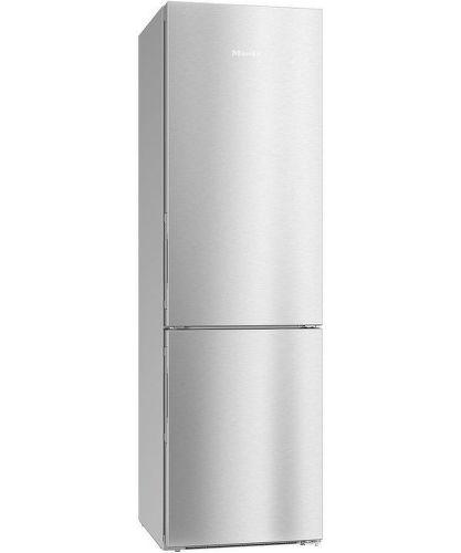 MIELE KFN 29283 D ed/cs, nerezová kombinovaná chladnička