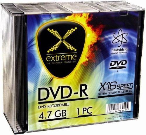 ESPERANZA 1167 DVD-R Extreme 4,7GB X16 SLIM CASE 10 ks pack