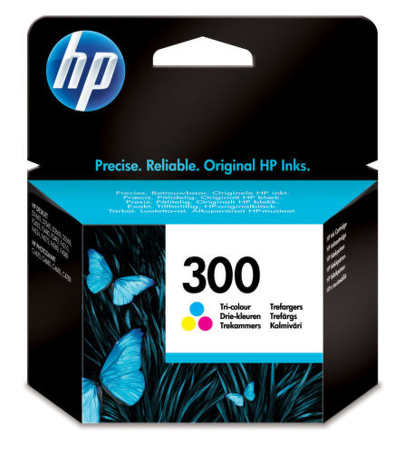 HP CC643EE No.300 color - atrament