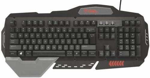 Trust GXT 850 - klávesnica