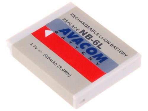 AVACOM DICA-NB6L-532, Batéria pre foto