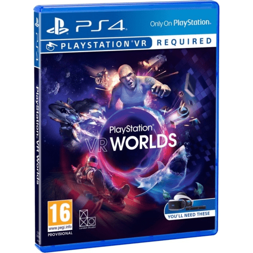SONY VR Worlds, PS4 hra