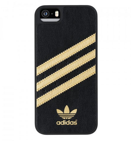 fdd696bef Adidas púzdro pre Apple iPhone 5/5s (čiernozlaté)   Nay.sk