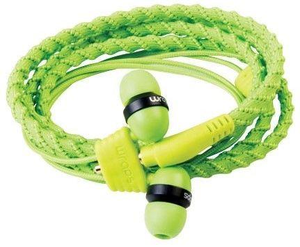 Wraps Classic Káblové slúchadlá (zelené)