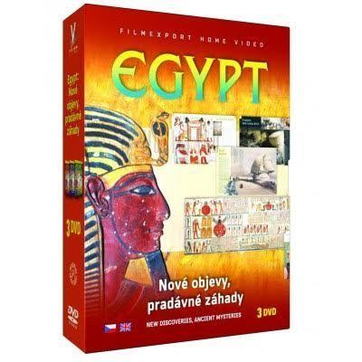 NO NAME Egypt Nové objevy, DVD Film