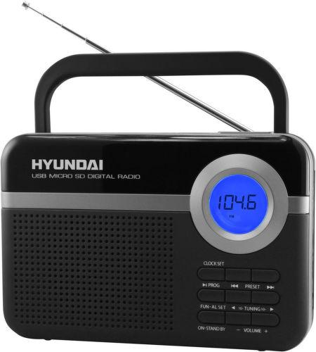 Hyundai PR 471 PLL SU BS - rádioprijímač (čierny)