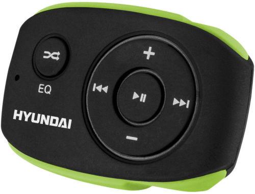 Hyundai MP 312 4GB - MP3 prehrávač (zeleno-čierny)