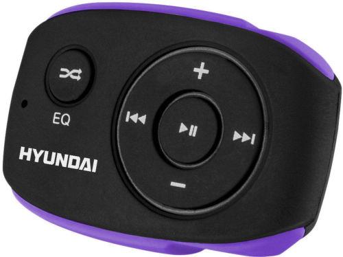 Hyundai MP 312 8GB - MP3 prehrávač (čierno-fialový)