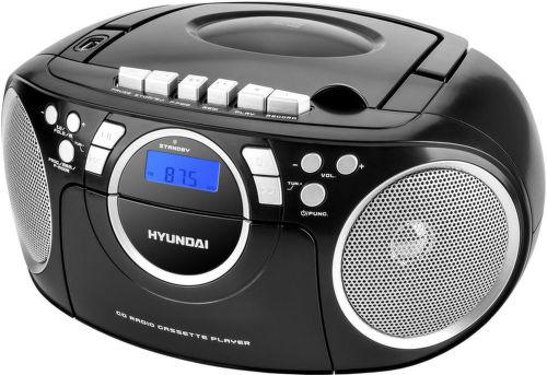 Hyundai TRC 788 AU3BS - rádiomagnetofón (čierno-strieborný)