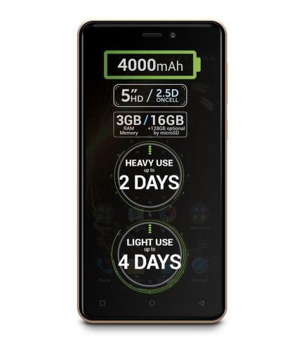 ALLVIEW P9 ENERGY MINI GLD, Smartfón