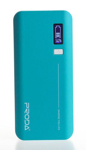 REMAX AA-1079 Power bank 20.000 mAh, display, modrá