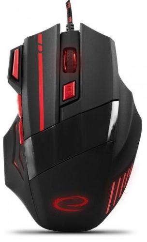 ESPERANZA 7D Wolf RED, USB myš