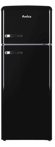 Amica VD 1442 AB čierna kombinovaná chladnička