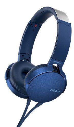 Sony MDR-XB550AP modrá