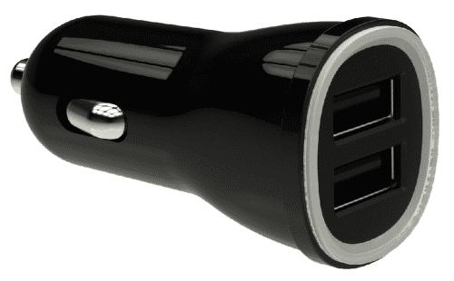 Winner Dual USB 3,1A Autonabíjačka (čierna)