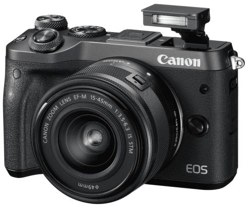 CANON EOS M6 BLK + 15-45, Fotoaparát_01