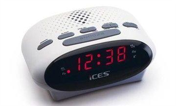 LENCO ICR-210 WHI, Rádiobudík