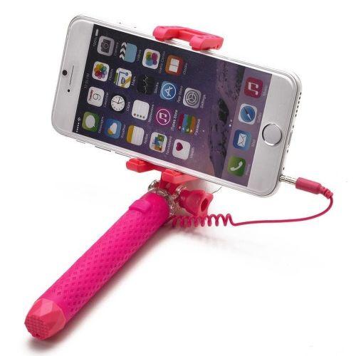 Celly Mini selfie tyč, ružová