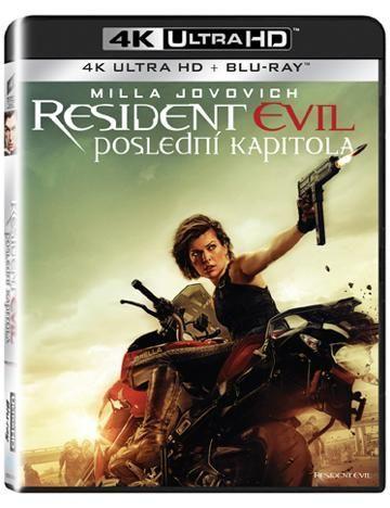 Bonton Resident Evil: Poslední kapitola UHD+BD film