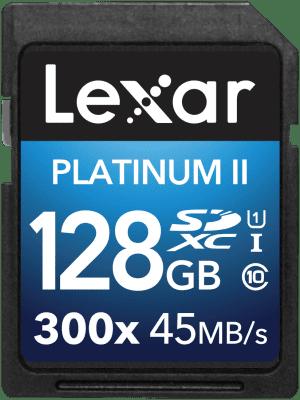 LEXAR 128GB SDXC 300x