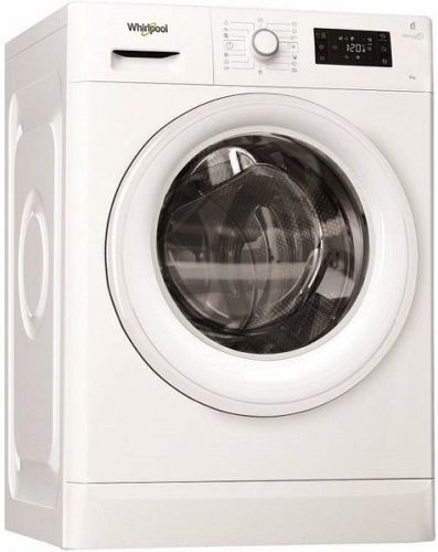 WHIRLPOOL FWSG61053W EU, biela slim práčka plnená spredu