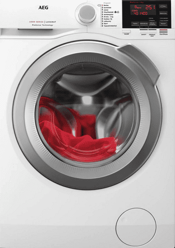 AEG ProSense L6FBG68SC biela práčka plnená spredu