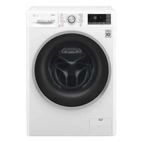 LG F72J7HG1W, smart parná práčka so sušičkou