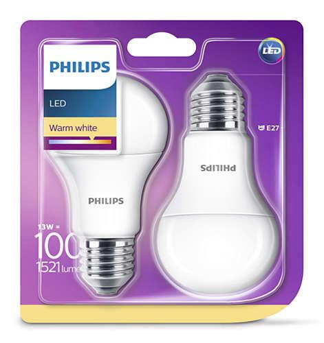 PHILIPS LIGHTING 100W E27 WW_1