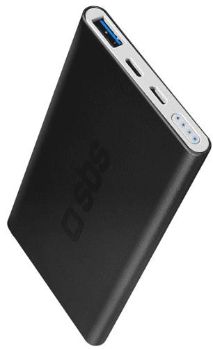 SBS powerbanka 5000 mAh, čierna