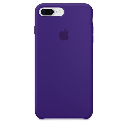 APPLE Silicone Case pre iPhone 8+/7+, fialová_01