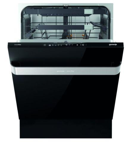GORENJE GV60ORAB, čierna vstavaná umývačka riadu