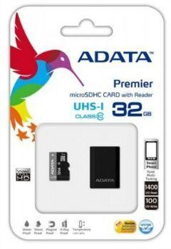 A-DATA microSDHC 32 GB 50 MBS CLASS 10 UHS-I