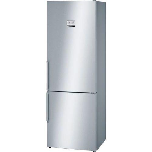 BOSCH KGN49AI31, nerezová inteligentná kombinovaná chladnička