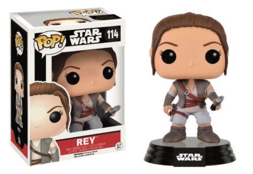 Vinylová figúrka - Rey - Star Wars - kývajúca hlava