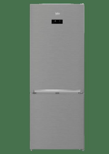 BEKO RCNE520E40ZX, nerezová kombinovaná chladnička