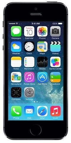 APPLE iPhone 5s 16GB Space Grey ME432CS/A