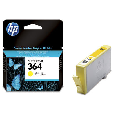 HP CB320EE YELLOW náplň No.364Y BLISTER