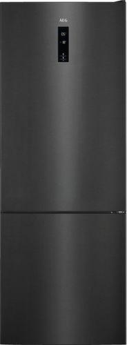 AEG RCB73421TY, čierna kombinovaná chladnička