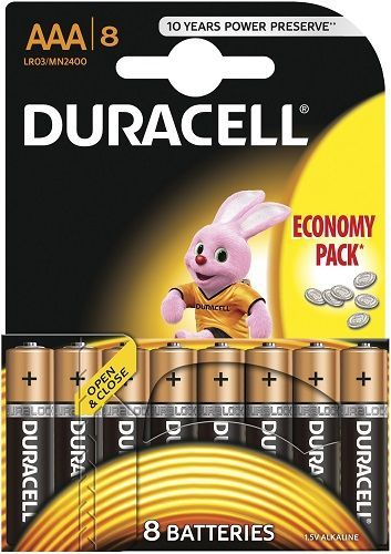 Duracell Basic AAA K8 2400