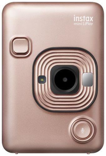 Fuji Instax mini LiPlay růžově zlatý